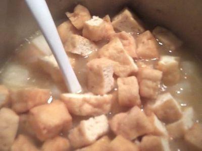 Add tofu puffs